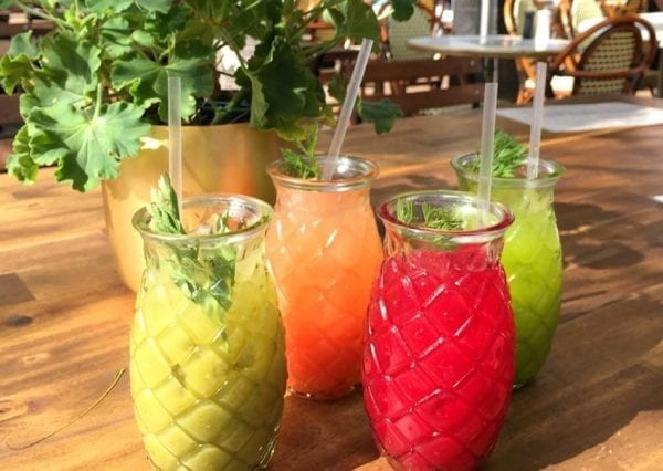 Blog Introducing Four Feel Good Juices New Summer Menu