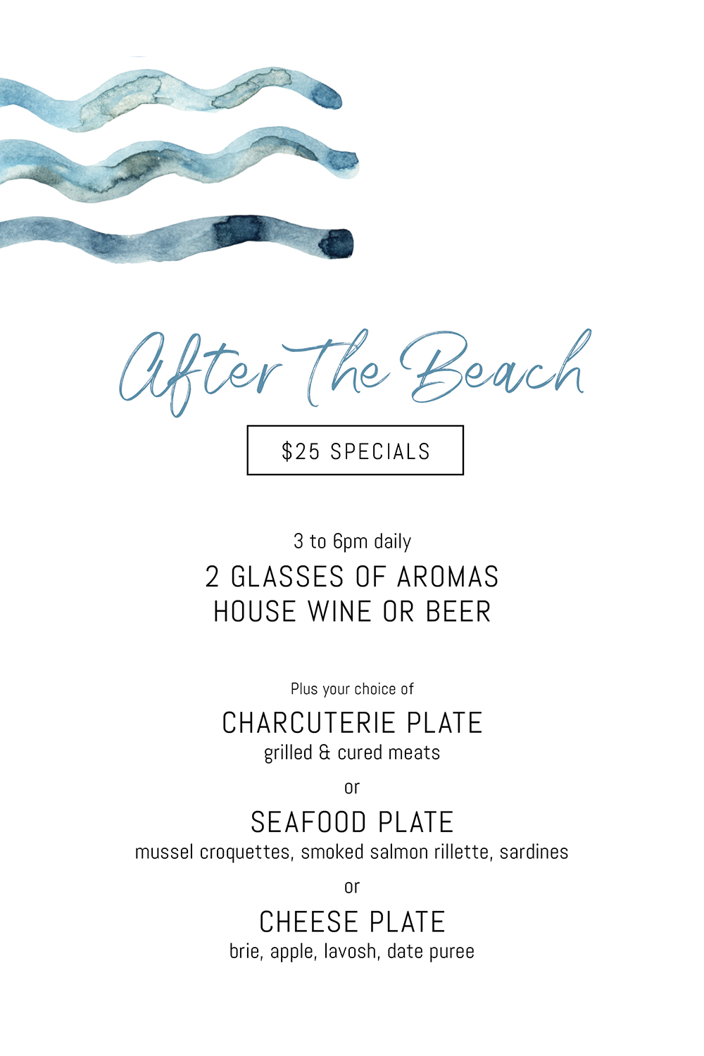 Aromas After The Beach Specials